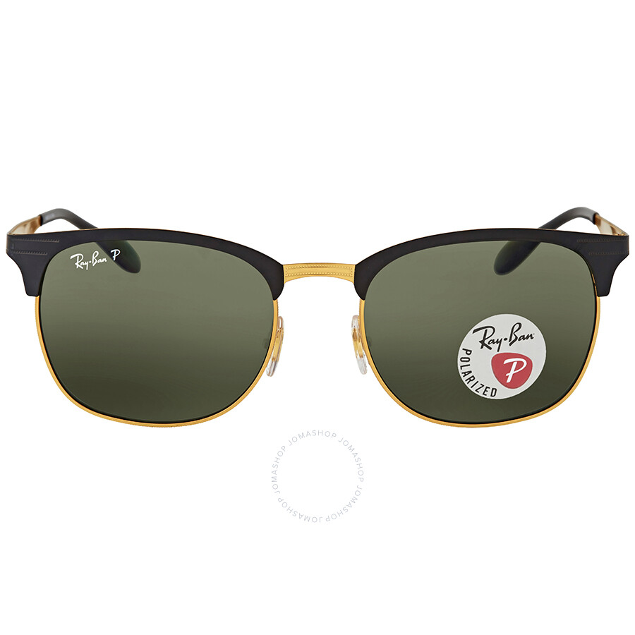 fb46b9493b7b Ray Ban Square Polarized Green Classic G-15 Sunglasses Item No. RB3538  187 9A 53