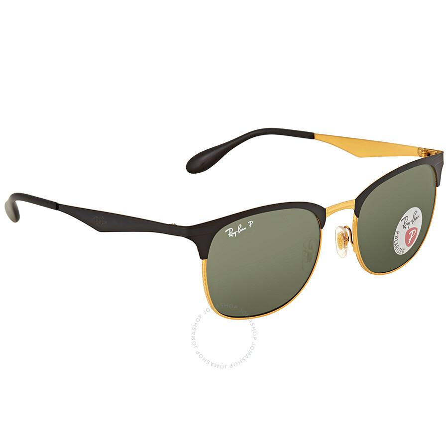4cde9f8500 Ray Ban Square Polarized Green Classic G-15 Sunglasses - Ray-Ban ...