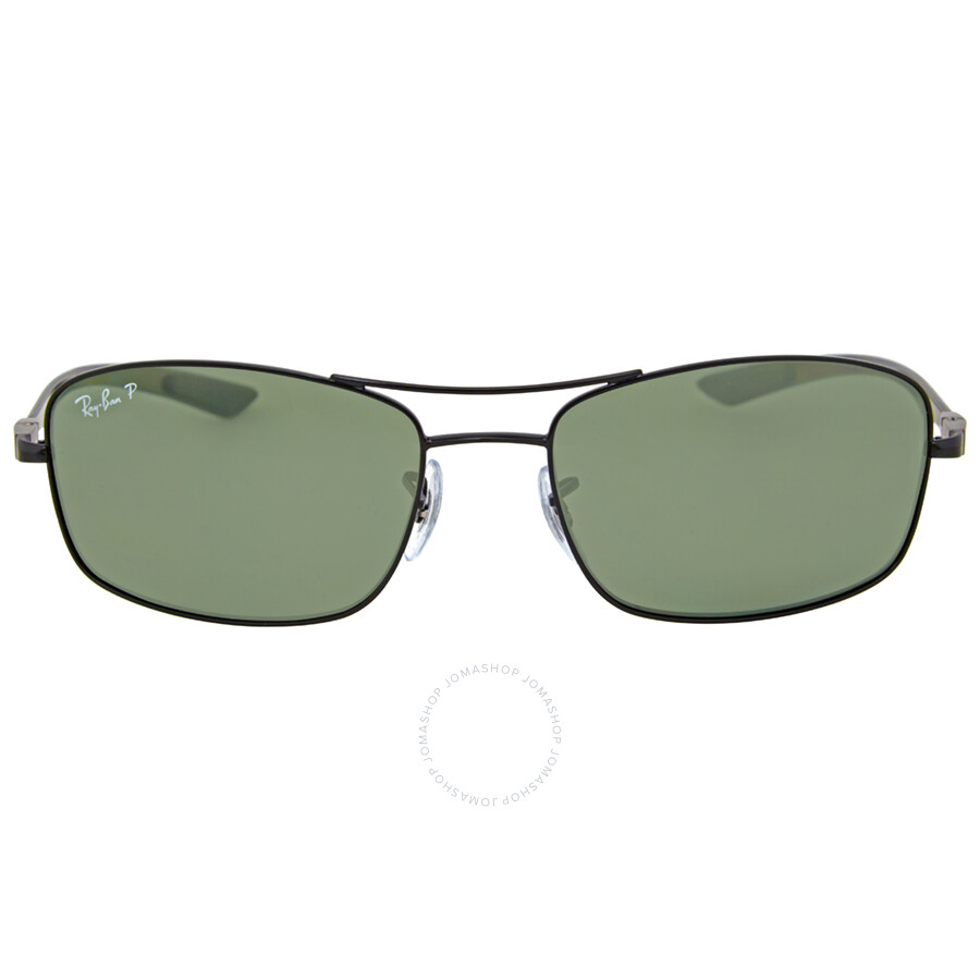 ray ban tech polarized sunglasses  ray ban tech carbon fiber polarized green classic g 15 sunglasses 0rb8309002/9a59