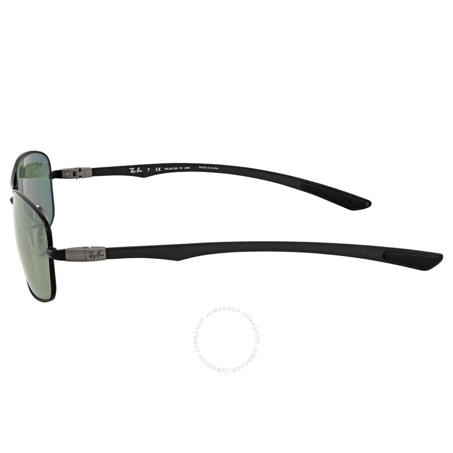 9660fc8e60db3 ... Ray Ban Tech Carbon Fiber Polarized Green Classic G-15 Sunglasses  0RB8309002 9A59 ...