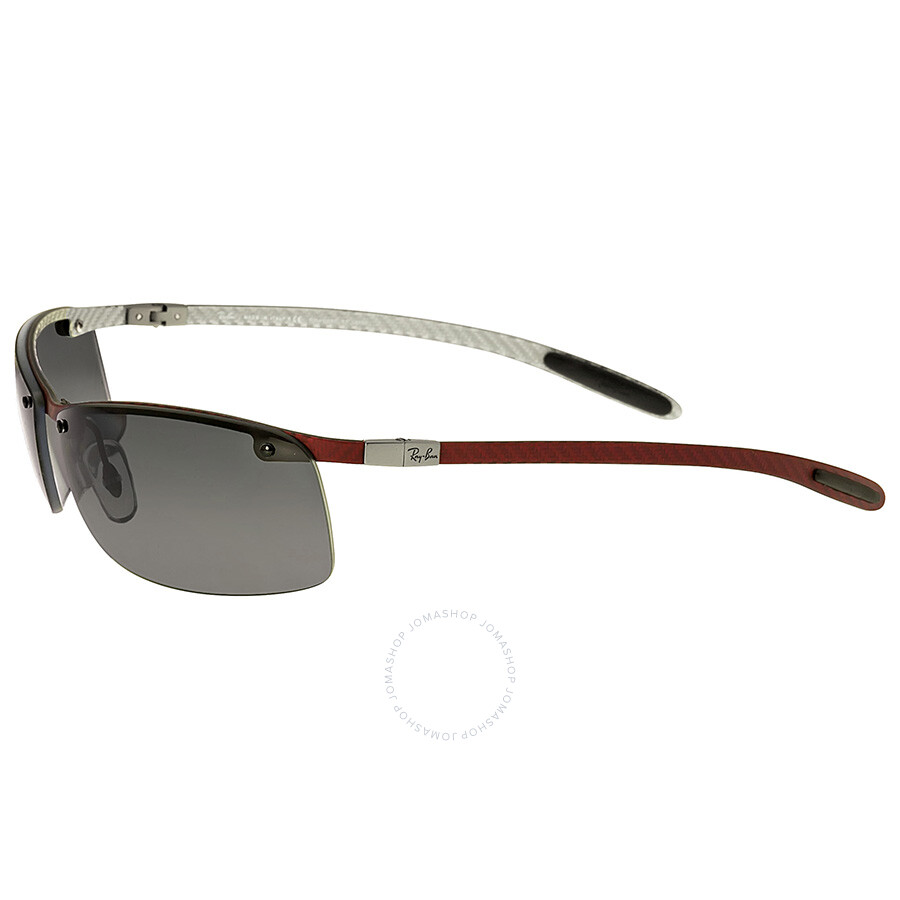 ray ban mens rb8305 carbon fibre sunglasses  ray ban tech wrap polarized ultra light carbon fiber sunglasses rb8305 63