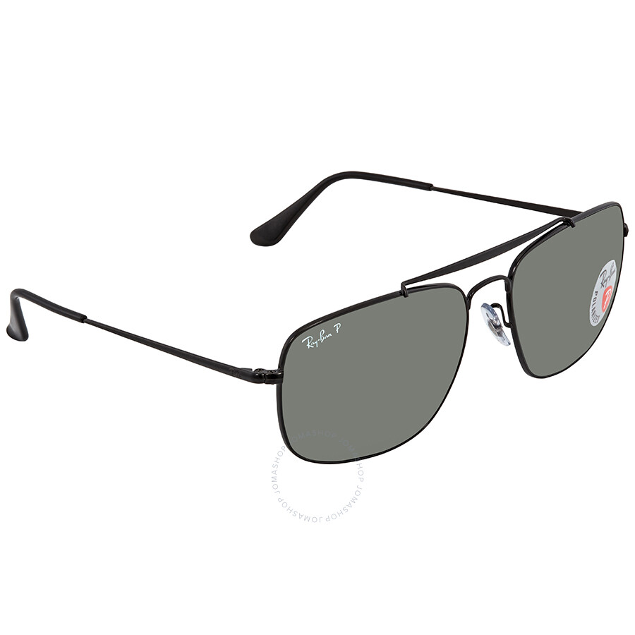 e97922daab Ray Ban The Colonel Green Polar Square Sunglasses RB3560 002 58 61 ...