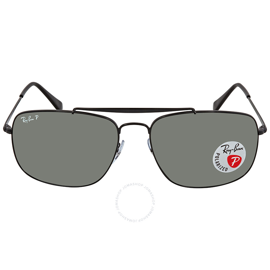 f9b5ccc0507 ... Ray Ban The Colonel Green Polar Square Sunglasses RB3560 002 58 61 ...