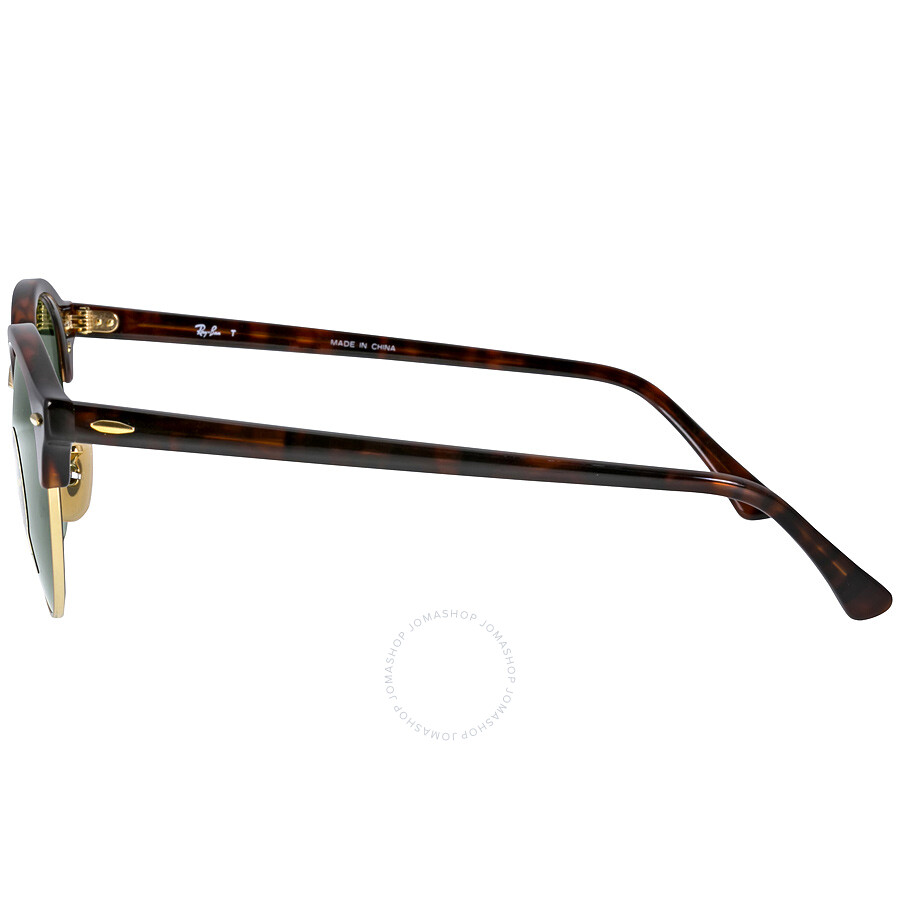 278a276670 Ray Ban Tortoise 4246 Clubround Round Sunglasses Lens 4246 990 ...