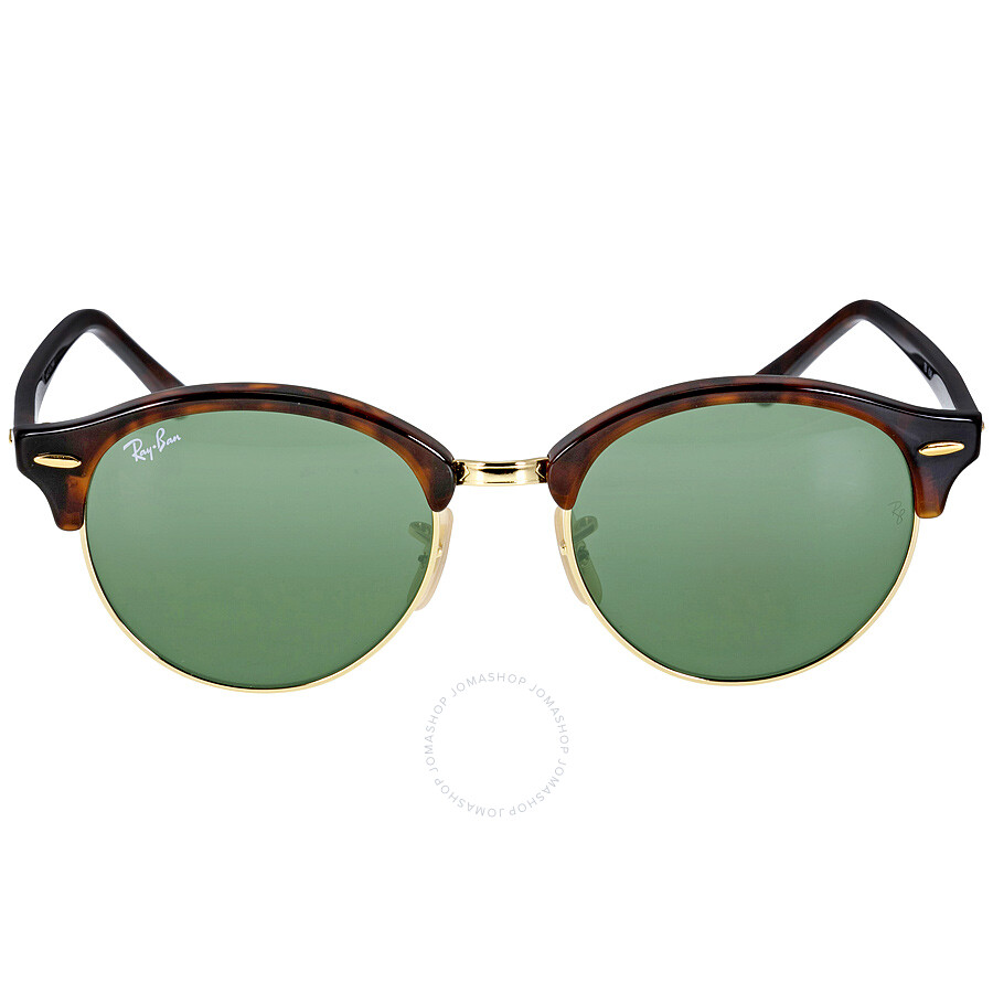 1bf7260fe0e3f Ray Ban Tortoise 4246 Clubround Round Sunglasses Lens 4246 990 Item No.  0RB4246-990-51