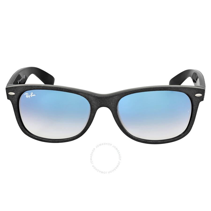 6efd491e93 Ray-Ban Wayfarer Alcantara Light Blue Gradient Sunglasses RB2132 62423F  55-18 ...