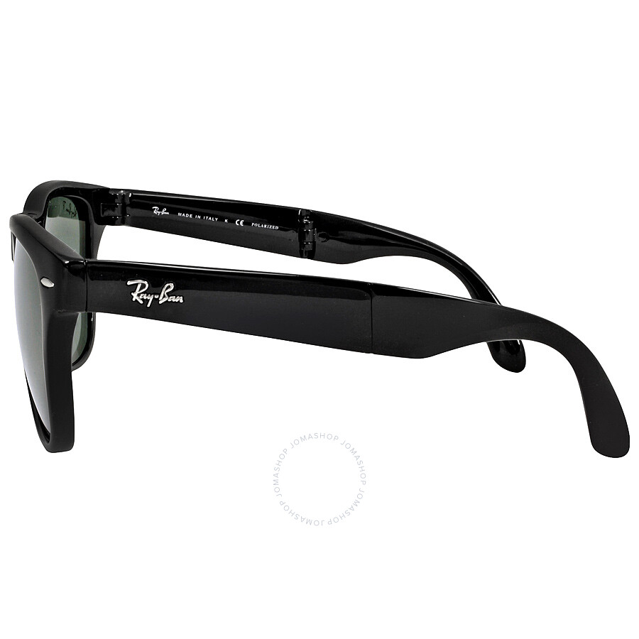 Ray-Ban Wayfarer Black Frame Folding Sunglasses RB4105 601 ...