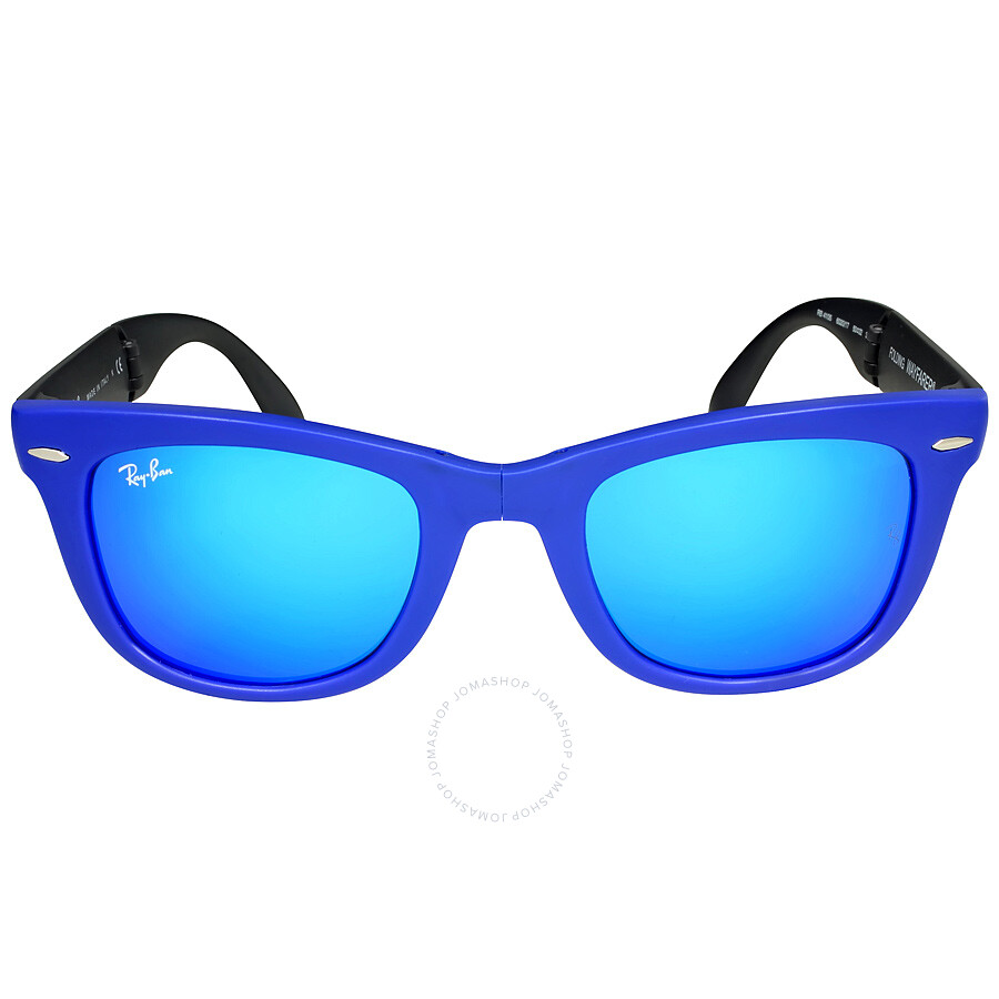 ray ban clubmaster blue frame  Blue Frame Ray Ban Sunglasses