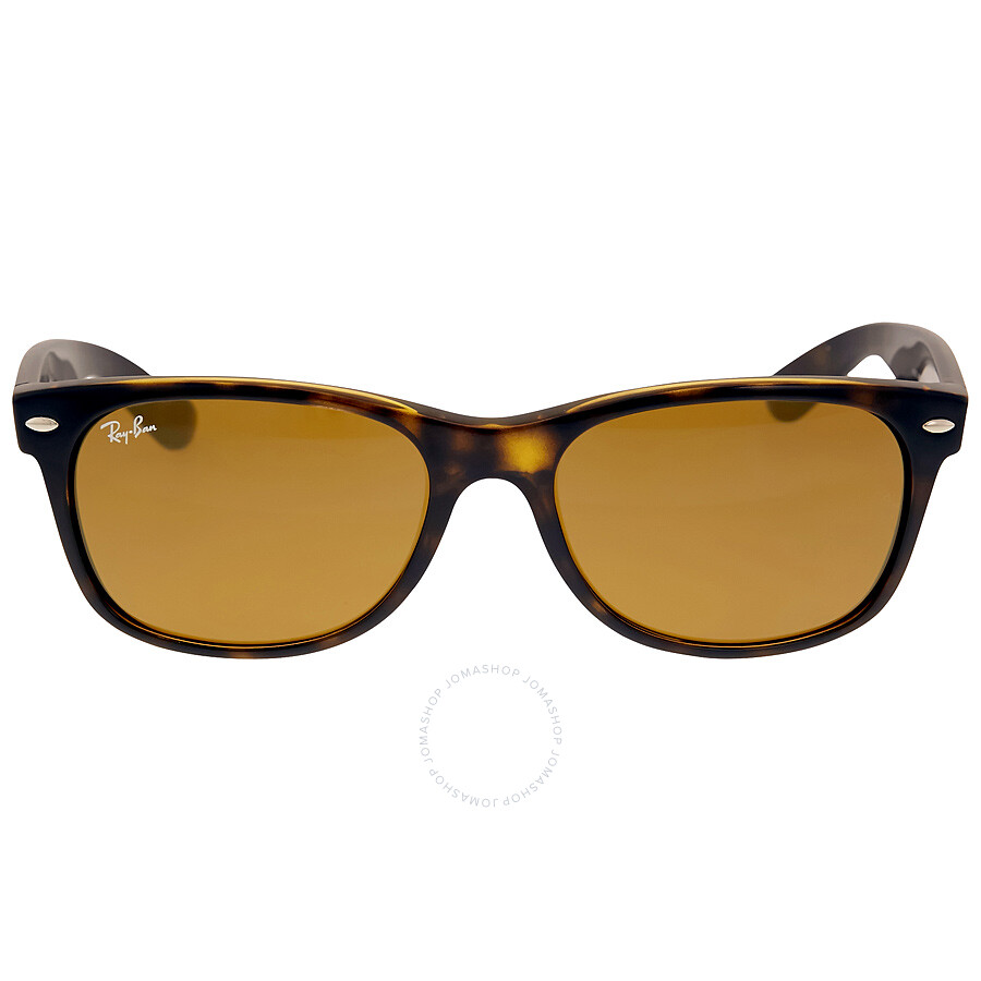 48c7bee22f0 Ray Ban Ray-Ban New Wayfarer Classic Sunglasses - Tortoise Brown RB2132 710  55