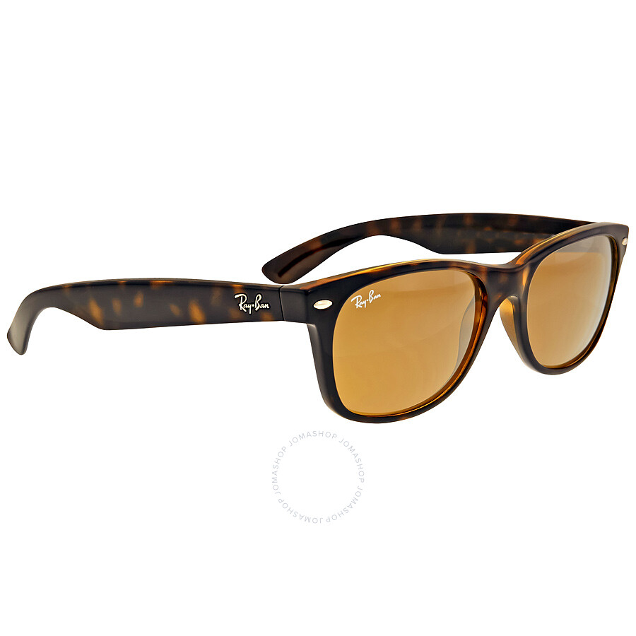 f2afb2eea92 ... Ray-Ban New Wayfarer Classic Sunglasses - Tortoise Brown RB2132 710 55  ...