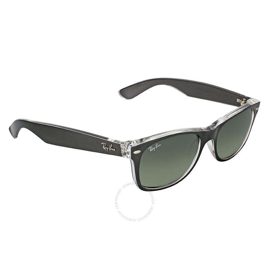7ab30113e ... Ray-Ban Wayfarer Color Mix Grey Gradient 52 mm Sunglasses RB2132 614371  52 ...