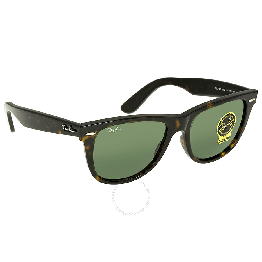 ray ban wayfarer colors  Ray Ban Wayfarer Dark Green G-15 Sunglasses RB2140 902 54-15 ...