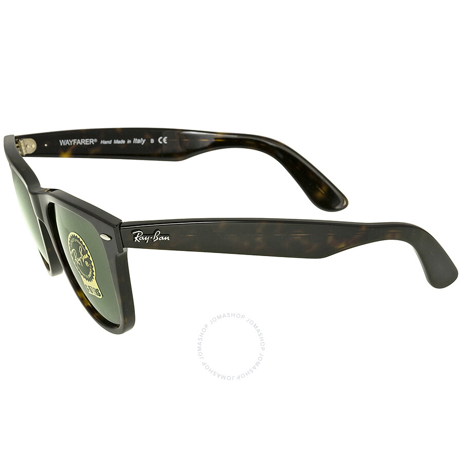 ... Ray Ban Wayfarer Dark Green G-15 Sunglasses RB2140 902 54-15 ... 64227e183a