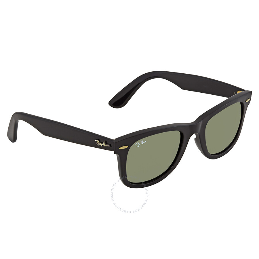 e1542761c3 Ray Ban Wayfarer Ease Green Classic G-15 Wayfarer Sunglasses RB4340 601 50  ...