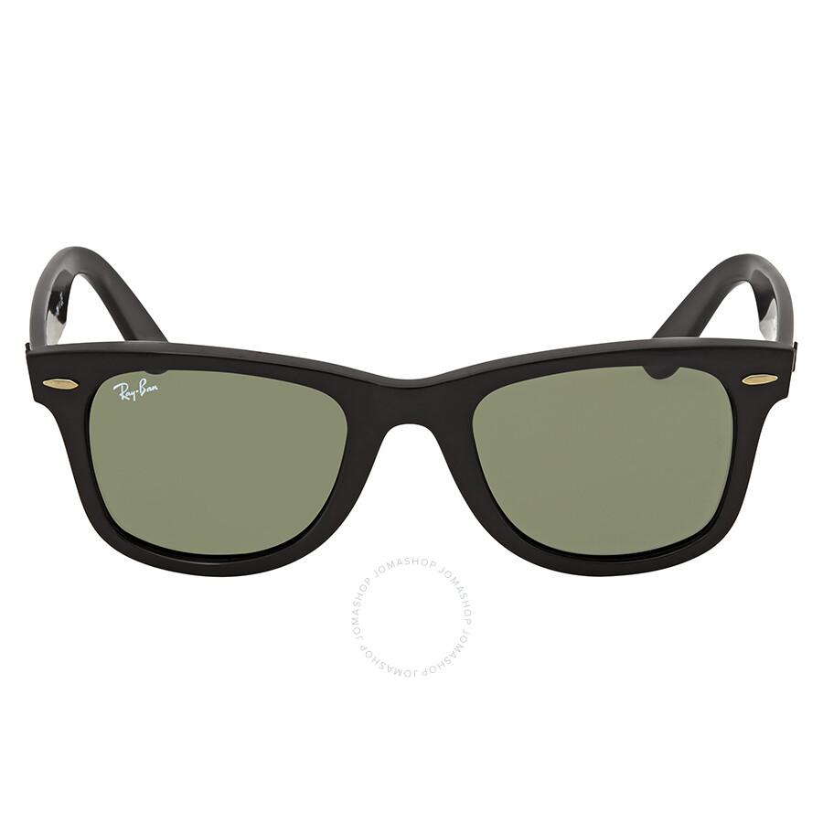 43c10cc041552 ... Ray Ban Wayfarer Ease Green Classic G-15 Wayfarer Sunglasses RB4340 601  50 ...