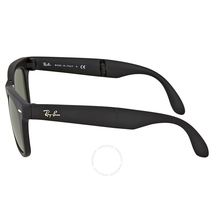 73e48f5017d96 Ray Ban Wayfarer Folding Classic Black Sunglasses - Wayfarer - Ray ...