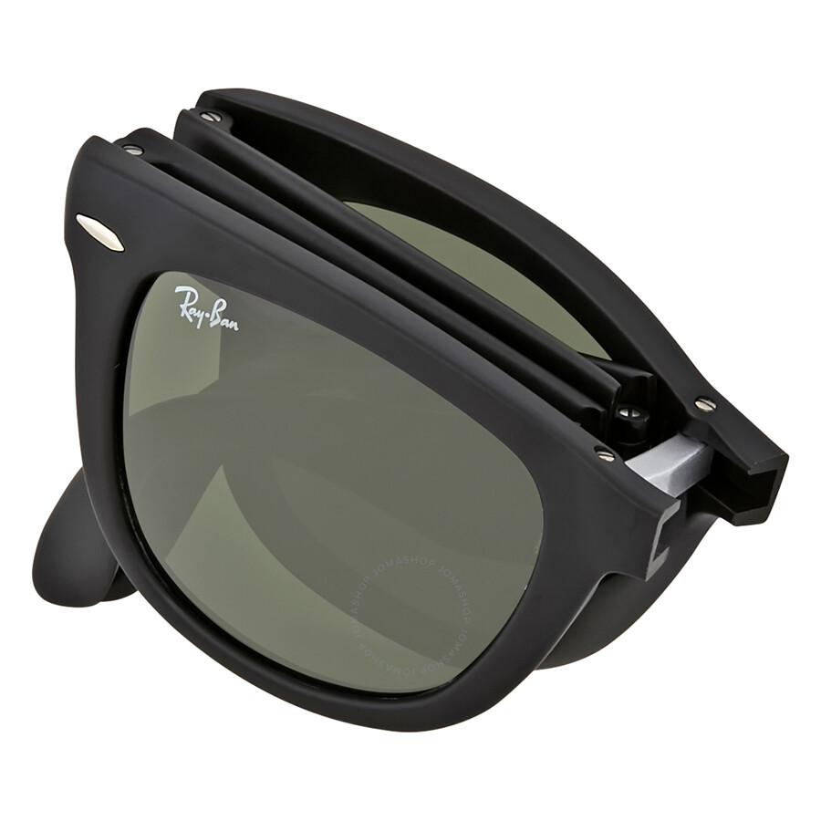 85225b34db219 Ray Ban Wayfarer Folding Classic Black Sunglasses - Wayfarer - Ray ...