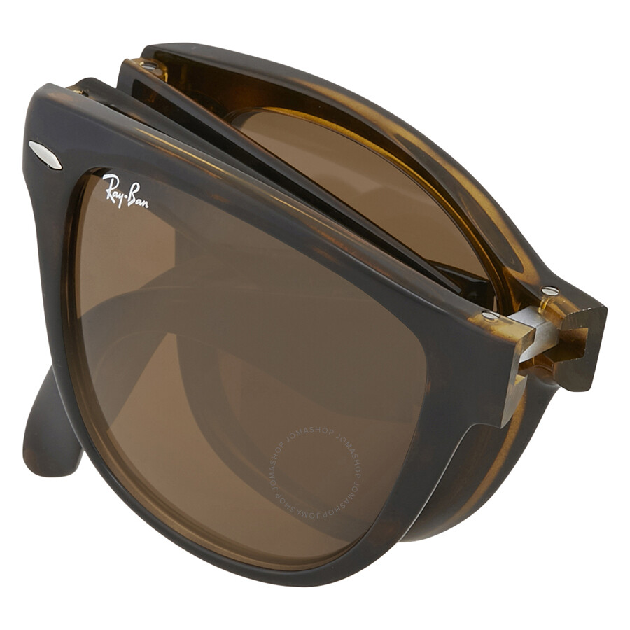 ad1ba40cf106 Ray-Ban Wayfarer Folding Classic Brown Sunglasses - Wayfarer - Ray ...