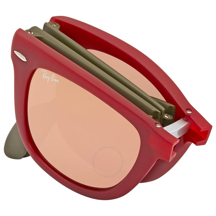 505f1df014 Ray Ban Wayfarer Folding Copper Flash Sunglasses RB4105 6050Z2 50 ...