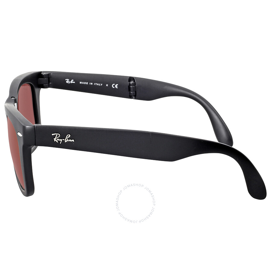 285b5711824 ... Ray Ban Wayfarer Folding Flash Red Mirror Sunglasses RB4105 601S2K 50  ...