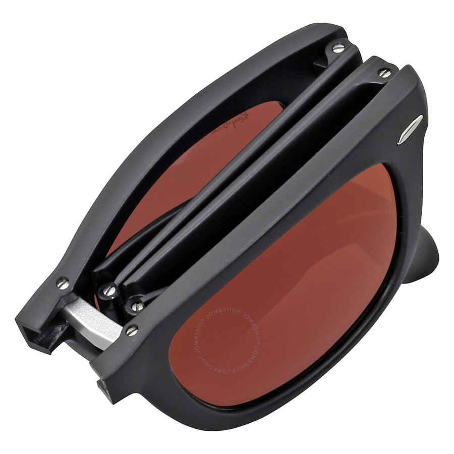 ef4f0190001b0a ... Ray Ban Wayfarer Folding Flash Red Mirror Sunglasses RB4105 601S2K 50