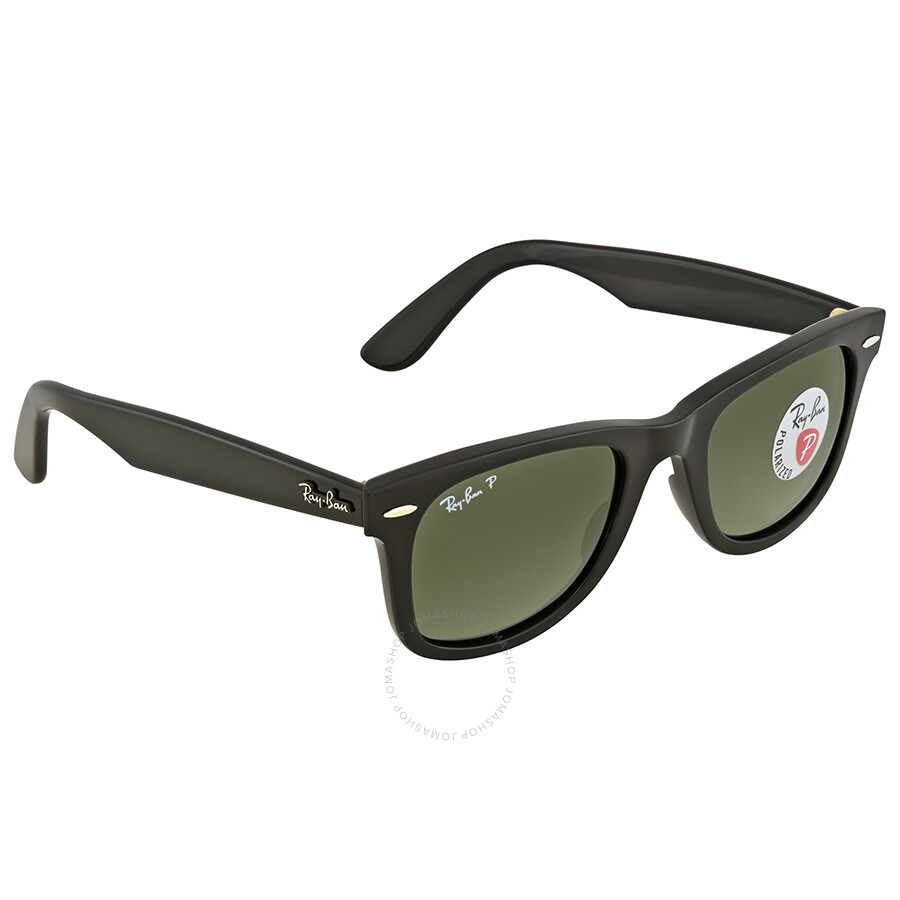 f19e5bc804 ... Ray Ban Wayfarer Green Classic G-15 Square Sunglasses RB4340 601 58 50  ...