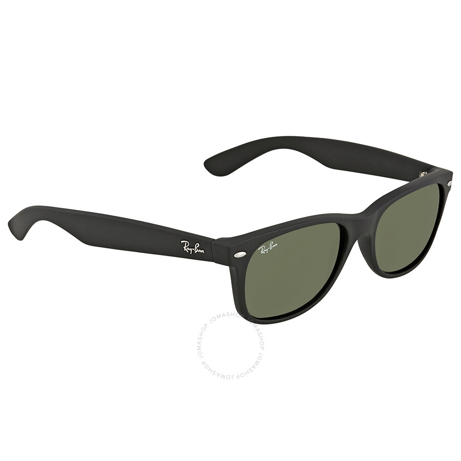 ed45e4ae9c Ray Ban Wayfarer Green Classic G-15 Unisex Sunglasses RB2132 622 55-18 ...