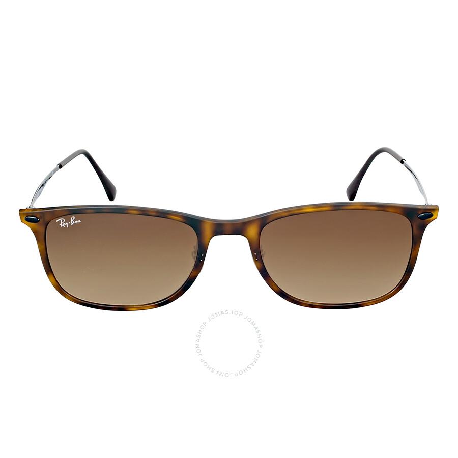 63ceae2748b Ray-Ban Wayfarer Light Ray Brown Gradient Sunglasses RB4225 894 13 52 ...