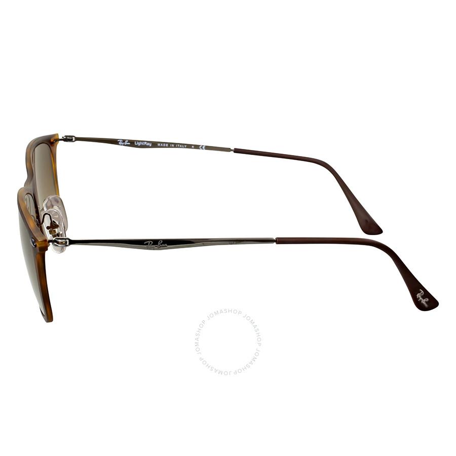 016d179c55c18 ... Ray-Ban Wayfarer Light Ray Brown Gradient Sunglasses RB4225 894 13 52  ...