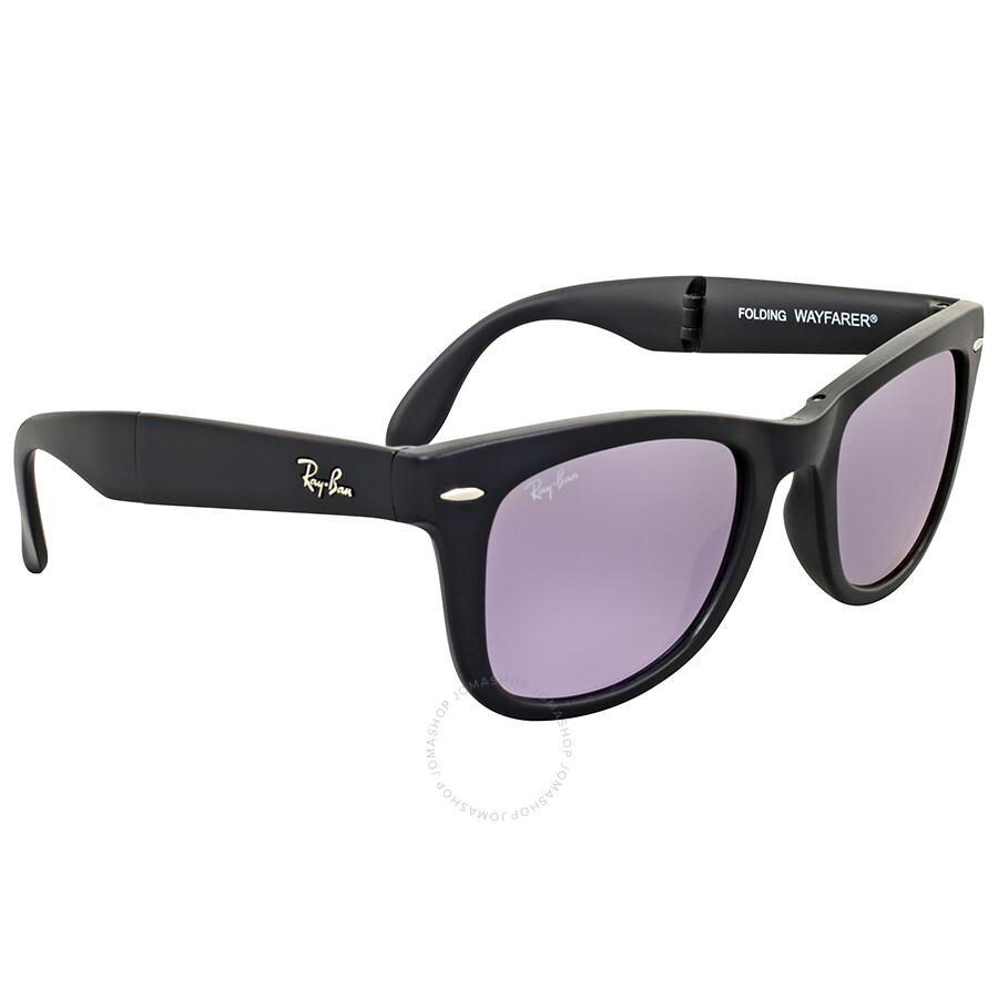 Ray ban wayfarer lilac mirror sunglasses wayfarer ray for Mirror sunglasses