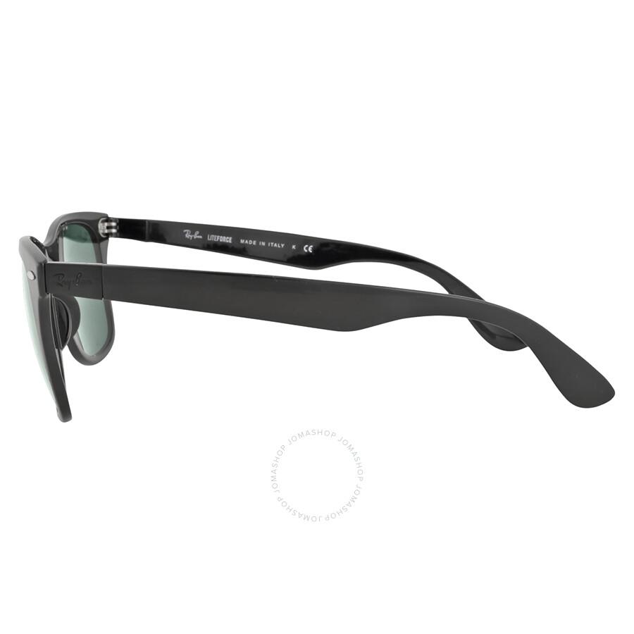 cb4e2f590a4 Ray-Ban Wayfarer Liteforce 52mm - Black Green Classic - Wayfarer ...