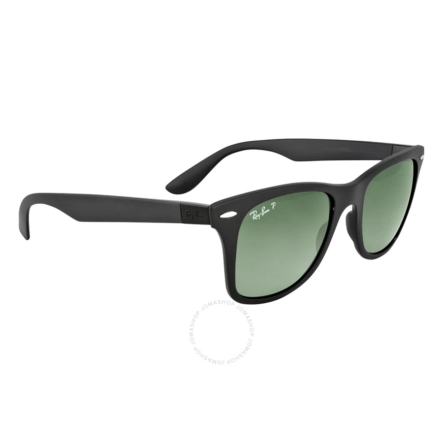 ef16db686a9 ... Ray-Ban Wayfarer Liteforce 52mm Sunglasses - Polarized Green Classic  G-15 ...