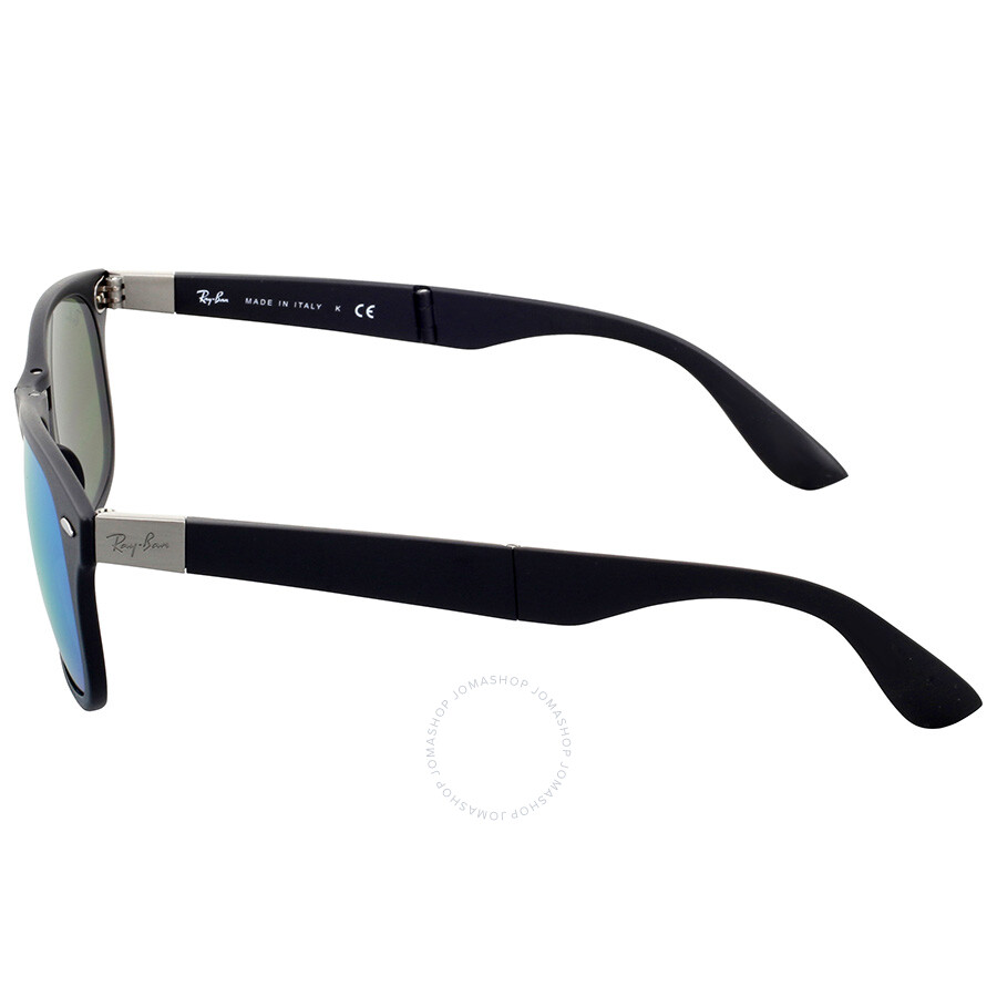 ray ban liteforce pmcx  Ray-Ban Wayfarer Liteforce Blue Mirror Sunglasses