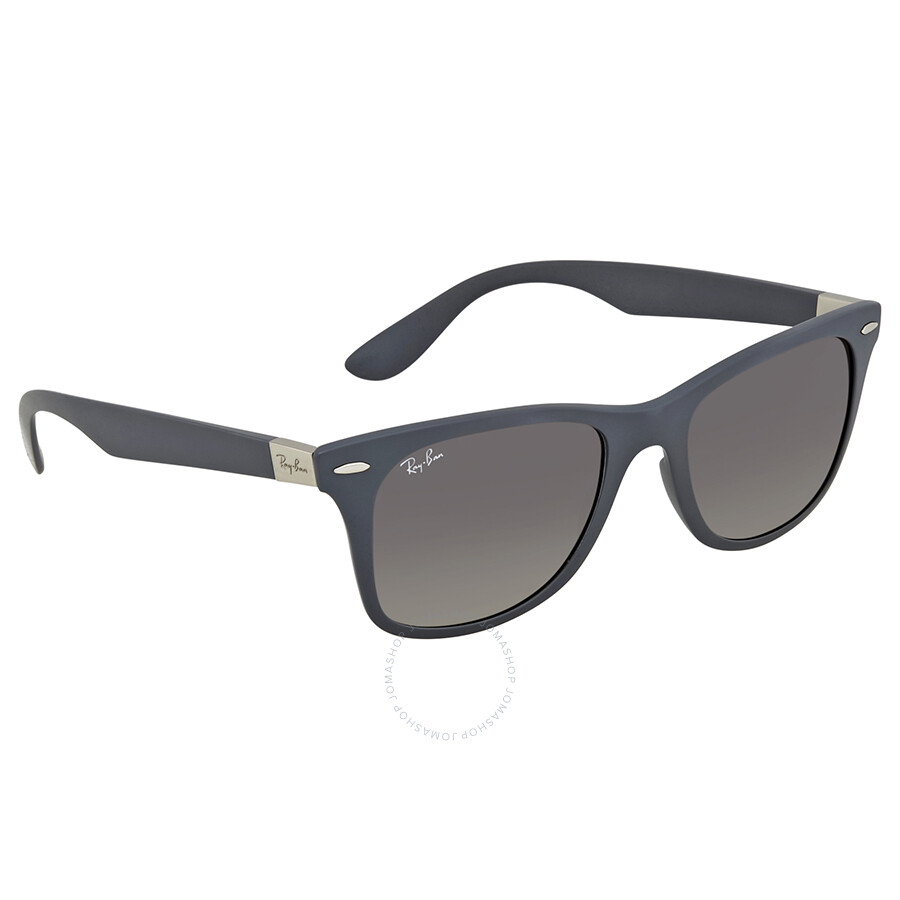 15e61277e6c Ray Ban Wayfarer Liteforce Grey Gradient Sunglasses RB4195 633211 52 ...