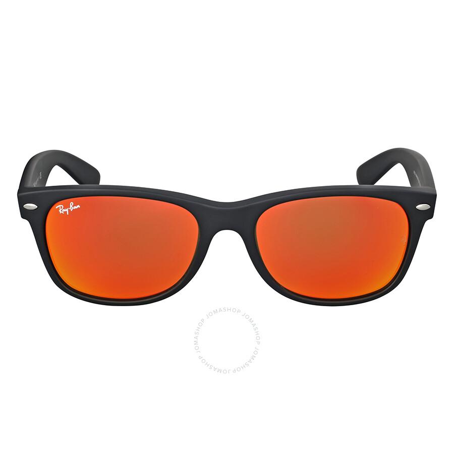 75efc43a2 Ray-Ban Wayfarer Orange Flash Sunglasses RB2132 622/69 55 - Wayfarer ...