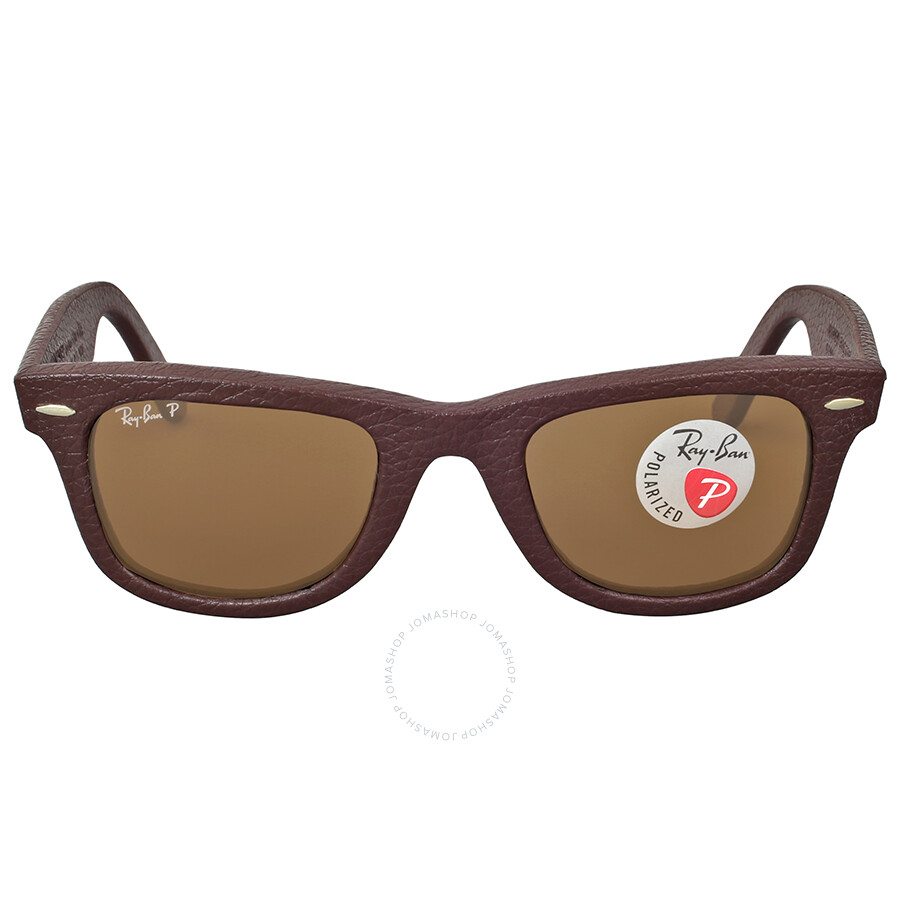 3bf3d8455f0 ... Aviator RB 3288 Brown Polarized Replica Sunglasses Ray Ban Wayfarer Polarized  Brown Leather Sunglasses - Wayfarer - Ray-Ban - Sunglasses -