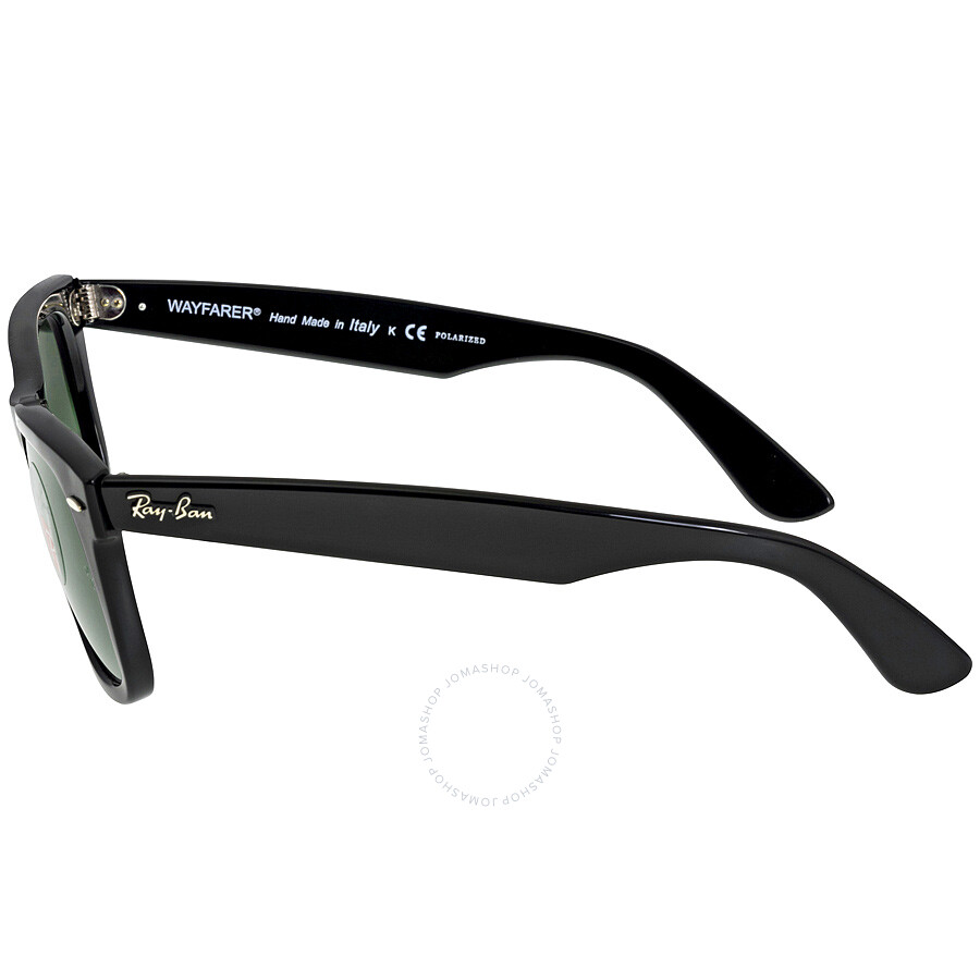 18fad2b59b8b97 Ray Ban Original Wayfarer Polarized Sunglasses RB2140 901 58-50 ...