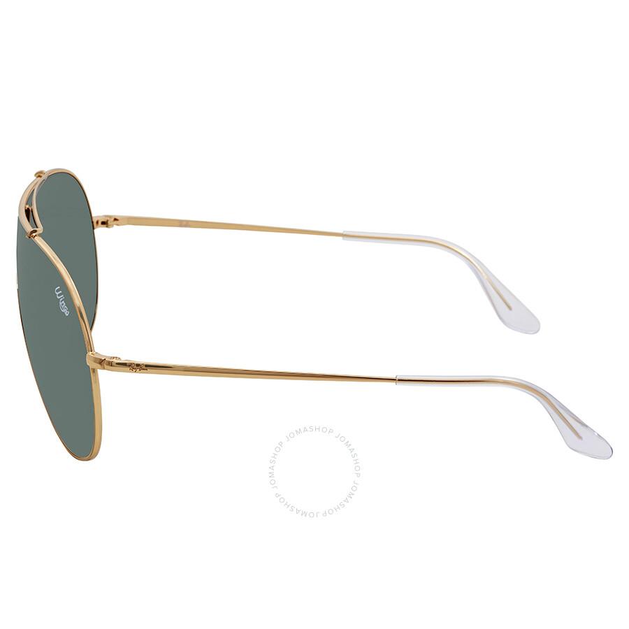 3a8b5fb8d8 Ray Ban Wings Green Classic Rectangular Sunglasses RB3597 905071 33 ...