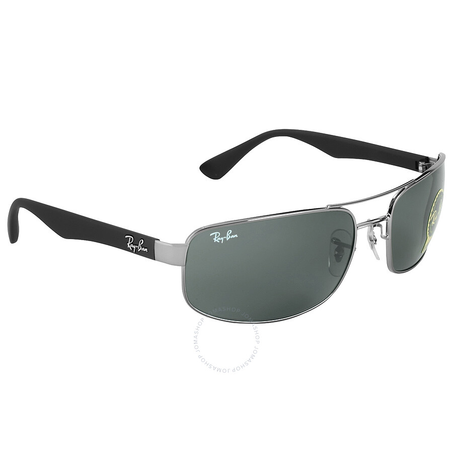 bdffdcecc8ea9 ... Ray-Ban Active Gunmetal Frame Green Lens Sunglasses RB3445 004 61 ...