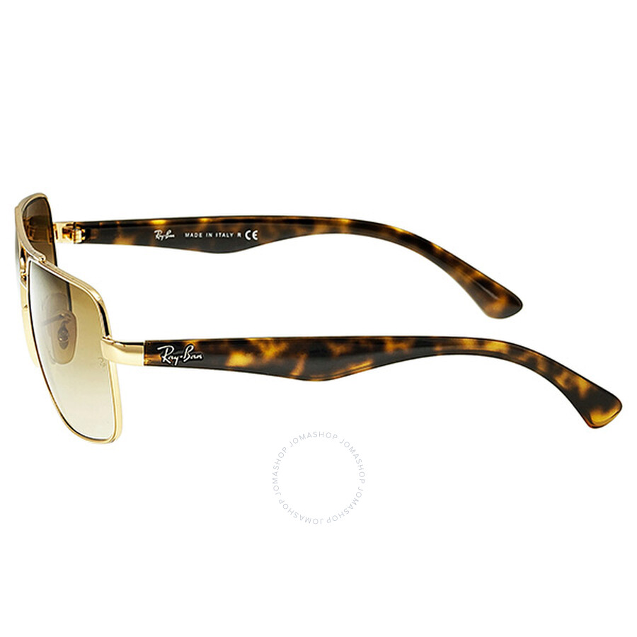 4e2a6b2756 ... Ray-Ban Arista Frame Faded Brown Lens Sunglasses RB3483-00151-60 ...