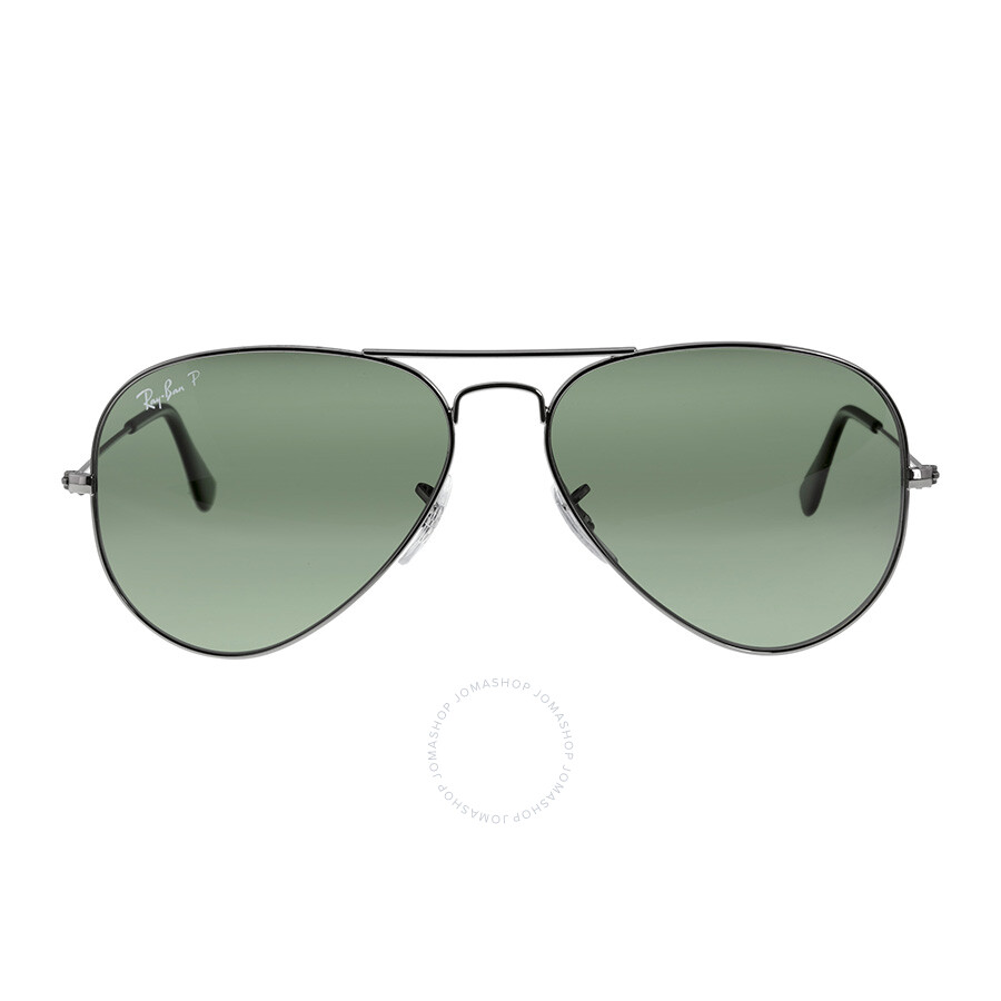 ray ban aviator classic polarized  Ray-Ban Aviator Classic Sunglasses - Polarized Green G -15 ...
