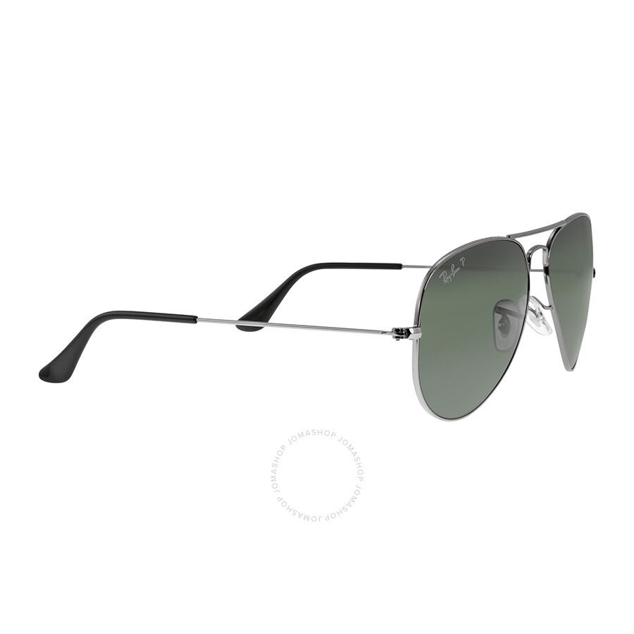 1840236ea94 Ray-Ban Aviator Classic Sunglasses - Polarized Green G -15 - Aviator ...