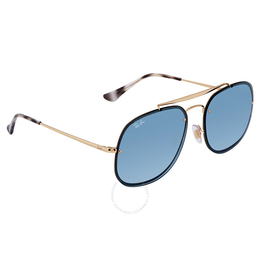 772720114e Ray Ban RayBan Blaze General RB3583N Blue Classic Square Sunglasses RB3583N  Item No. RB3583N 91738058