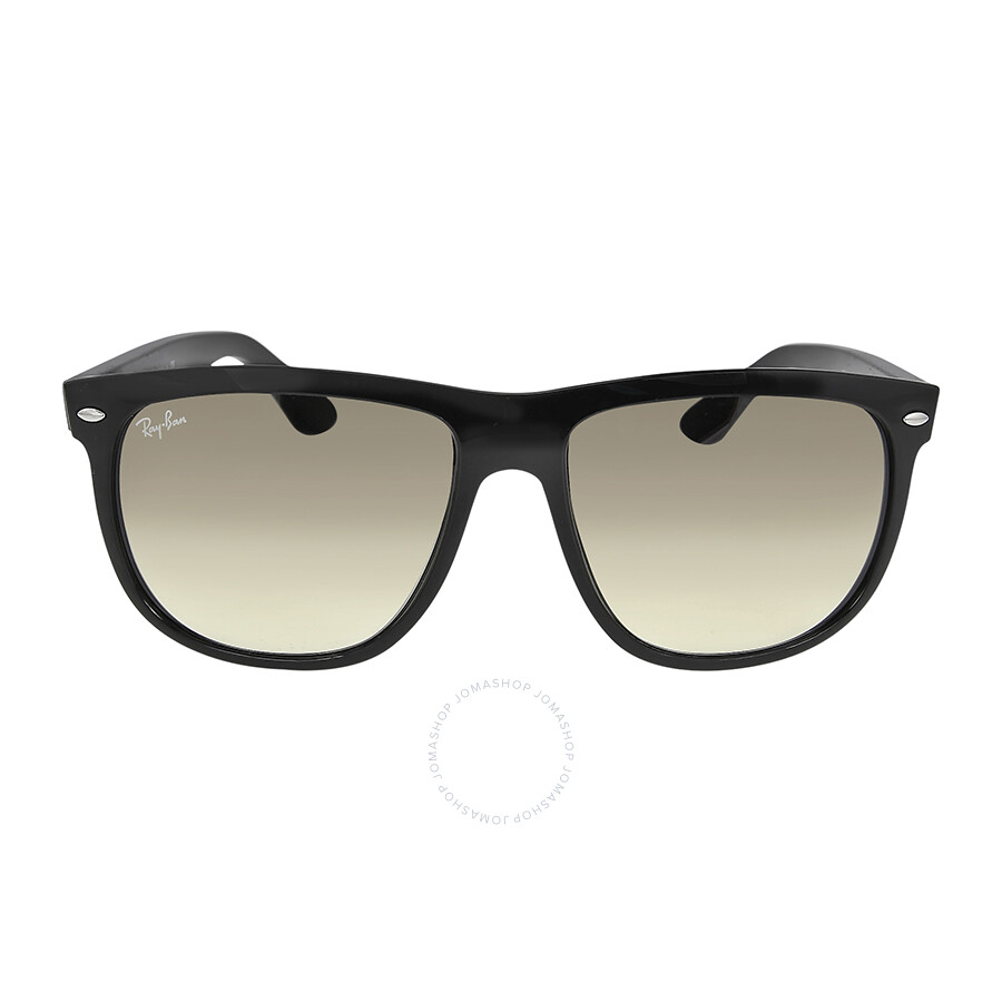 c94af1b5f6 Rayban Boyfriend Gradient Silver Unisex Sunglasses 4147-60132-56 ...