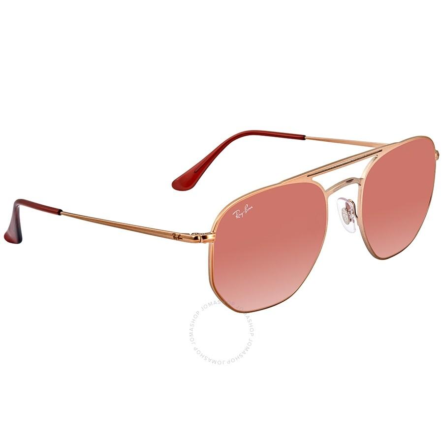 3f5b4f419297 RayBan Brown Pink Gradient Mirror Square Sunglasses RB360991410T54 ...