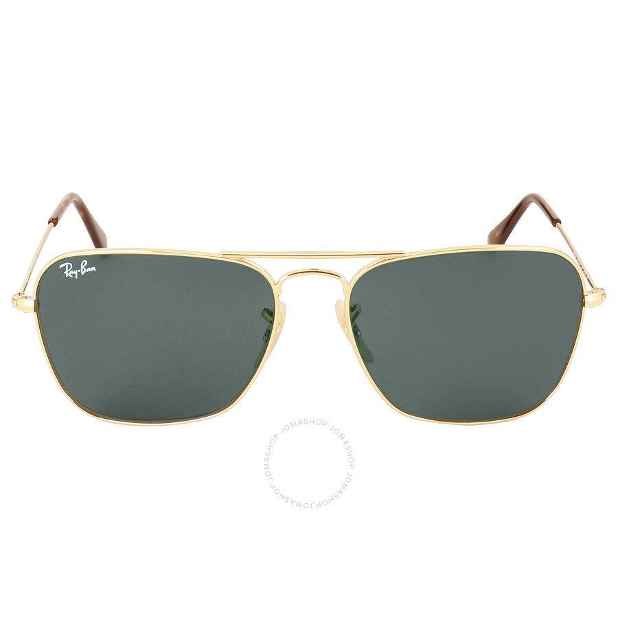 7c721f5ab9 Ray-Ban Caravan Green Classic G-15 55 mm Sunglasses RB313618155 ...