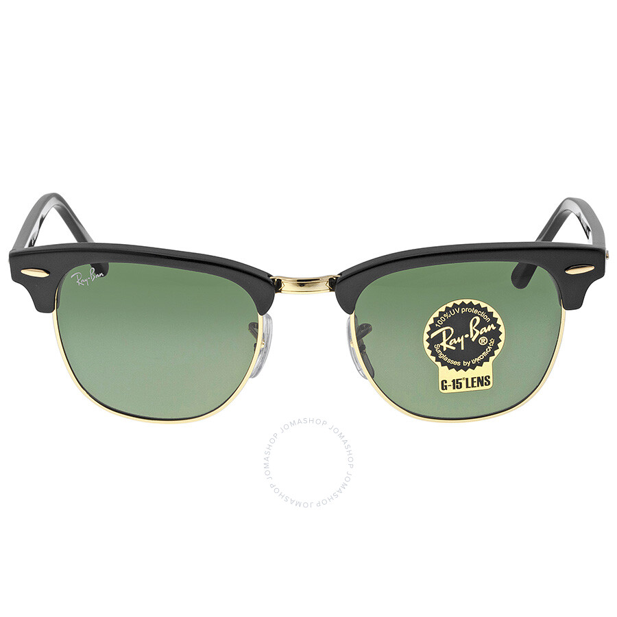 레이밴 Ray Ban 클럽마스터 Clubmaster Black 49mm Sunglasses RB3016 W0365-49
