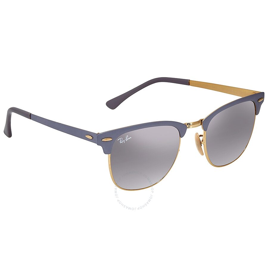 4d1e45cdc3 Ray Ban RayBan Clubmaster Metal RB3716 Grey Gradient Mirror Sunglasses Item  No. RB37169158AH51