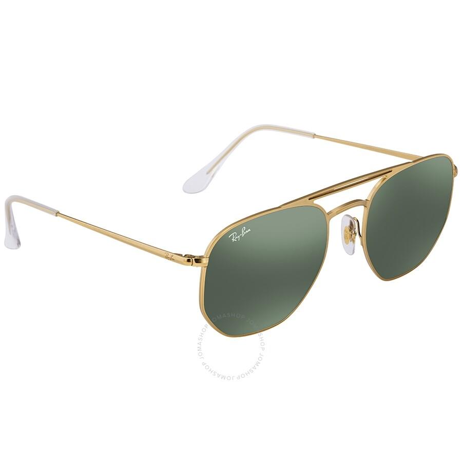 f0e3bb6d69a9 RayBan RB3609 Green Classic Square Sunglasses RB3609 91407154 ...