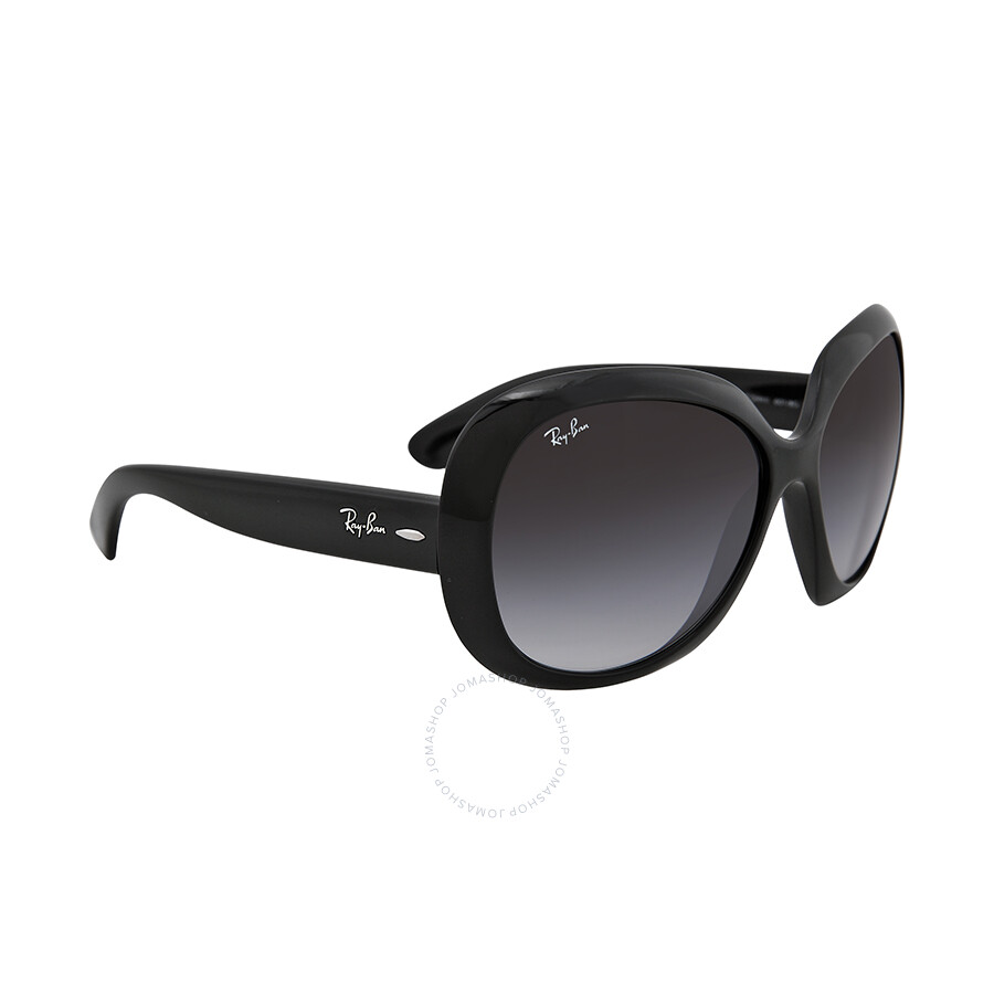 24922a5da3 ... Rayban Jackie OHH II Black Gradient Grey 60mm Ladies Sunglasses RB4098  601 8G 60- ...